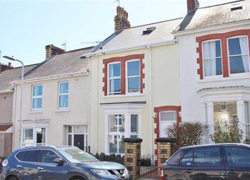Thumbnail 4 bed terraced house for sale in Victoria Avenue, Mumbles, Swansea