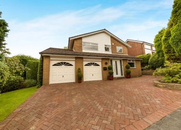 Thumbnail 4 bed detached house for sale in Fern Bank Close, Stalybridge