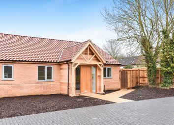 Thumbnail 3 bed semi-detached bungalow for sale in Crofts Close, Burnham Market, King's Lynn