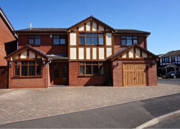 Thumbnail 6 bed detached house for sale in Seaforth Grove, Willenhall