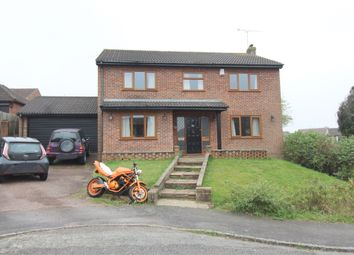 Thumbnail 4 bed detached house for sale in Ryegrass Close, Walderslade, Kent.