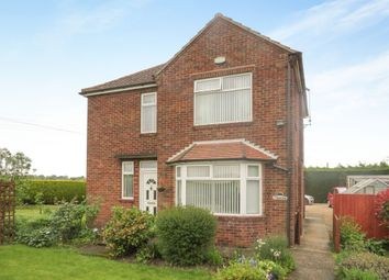 Thumbnail 3 bed detached house for sale in Station Road, Clenchwarton, King's Lynn