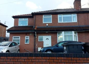 Thumbnail 5 bedroom semi-detached house to rent in Holbeck Grove, Victoria Park, Manchester