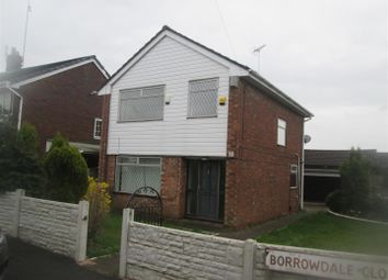 Thumbnail 3 bed detached house for sale in 2 Borrowdale Close, Royton, Oldham