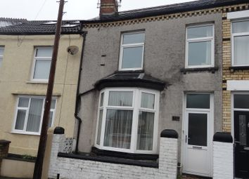 Thumbnail 3 bedroom terraced house for sale in Aberystwyth Crescent, Barry