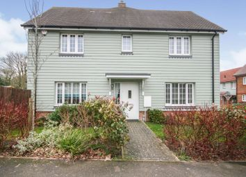 Thumbnail 3 bed semi-detached house for sale in Siskin Close, Folkestone