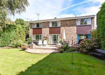 Thumbnail 4 bed detached house for sale in Hazel Grove, Arundel, West Sussex
