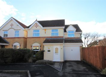Thumbnail 4 bed detached house for sale in Longfellow Close, Blunsdon, Swindon