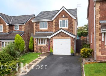Thumbnail 3 bed detached house for sale in Lostock Meadow, Clayton-Le-Woods, Chorley