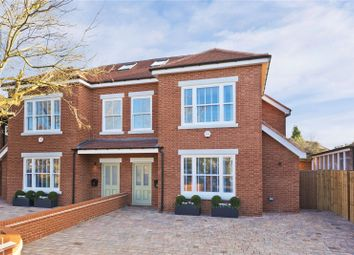 Thumbnail 5 bed semi-detached house for sale in Seymour Road, East Molesey, Surrey
