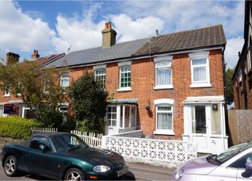 Thumbnail 2 bed end terrace house for sale in Cromwell Road, Bournemouth