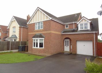 Thumbnail 4 bed detached house for sale in Rowan Close, Sleaford