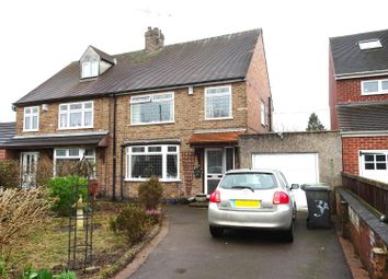 Thumbnail 3 bedroom semi-detached house for sale in Derbyshire Avenue, Trowell, Nottingham