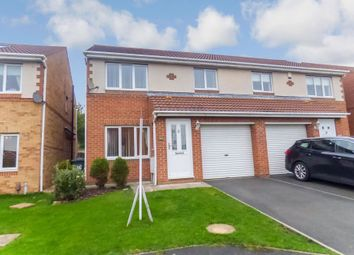 Thumbnail 3 bed semi-detached house for sale in Holyfields, West Allotment, Newcastle Upon Tyne
