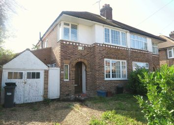 Thumbnail 3 bed semi-detached house for sale in Letchworth Avenue, Feltham