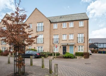 Thumbnail 3 bed town house for sale in Playsteds Lane, Great Cambourne, Cambridge