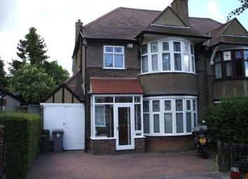 Thumbnail 5 bed semi-detached house to rent in Northwick Avenue, Kenton