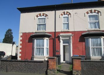 Thumbnail 1 bed flat to rent in Birchfield Road, Birmingham