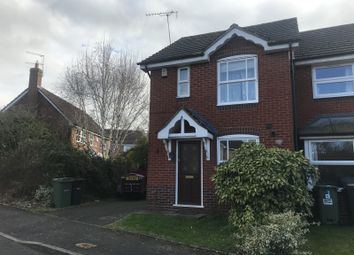 Thumbnail 2 bedroom end terrace house to rent in Lewes Gardens, Warndon, Worcester