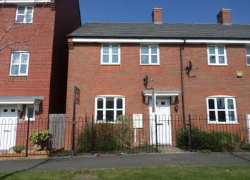 Thumbnail 3 bedroom terraced house to rent in Oakworth Close, Hadley, Telford