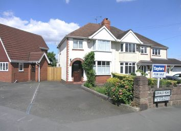 Thumbnail 3 bed semi-detached house for sale in Stourbridge, Wollaston, Vicarage Road