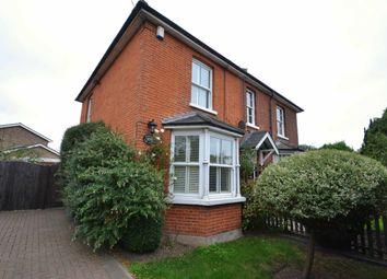 Thumbnail 2 bed semi-detached house for sale in Oak Hill Road, Stapleford Abbotts, Romford