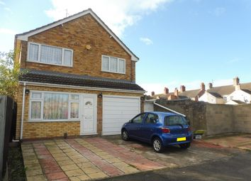 Thumbnail 4 bedroom detached house for sale in Warbon Avenue, West Town, Peterborough