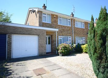 Thumbnail 3 bed semi-detached house to rent in Mendip Road, Farnborough