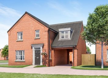 Thumbnail 4 bed link-detached house for sale in Hospital Road, Little Plumstead, Norwich