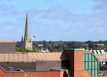 Thumbnail 1 bed flat for sale in Sentinel House, Norwich