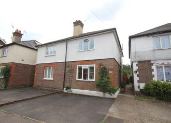 Thumbnail 2 bed semi-detached house for sale in New Road, Chilworth, Guildford