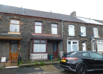 Thumbnail 3 bed terraced house for sale in Sherwood Street, Llwynypia