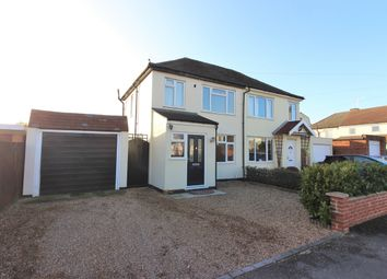 Thumbnail 3 bed semi-detached house for sale in Central Avenue, West Molesey
