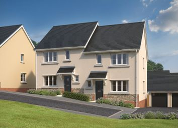 Thumbnail 3 bedroom detached house for sale in Mountford Drive, Bovey Tracey, Newton Abbot