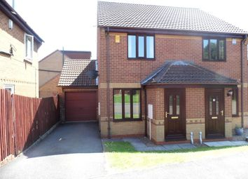 Thumbnail 2 bed semi-detached house to rent in Benmore Court, Oakwood, Derby