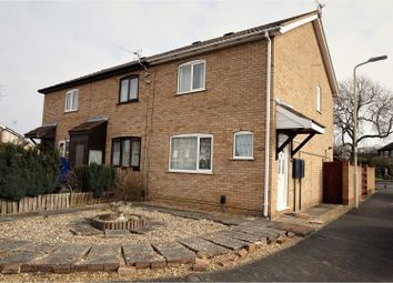 Thumbnail 2 bed end terrace house for sale in Creaton Road, Wigston