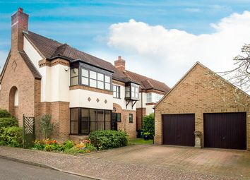 Thumbnail 4 bed detached house for sale in Hobby Close, Hartford, Huntingdon