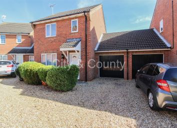 Thumbnail 3 bed link-detached house for sale in Oldfield Gardens, Whittlesey, Peterborough