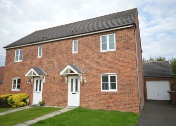 Thumbnail 3 bed semi-detached house for sale in Edgefield, Shiremoor, Newcastle Upon Tyne