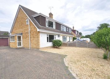 Thumbnail 3 bed semi-detached house for sale in Fairmile, Church Crookham, Fleet