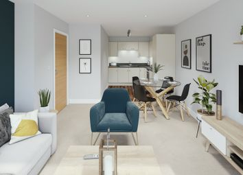 Thumbnail 1 bed flat for sale in John Thornycroft Road, Southampton