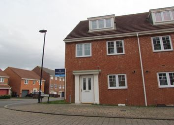 Thumbnail 3 bedroom semi-detached house for sale in Dowding Lane, Kenton, Newcastle Upon Tyne