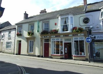 Thumbnail Commercial property for sale in Cross Street News, 43, Cross Street, Camborne, Cornwall
