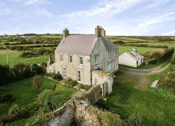 Thumbnail 5 bed detached house for sale in Rhoscolyn, Holyhead, Gwynedd