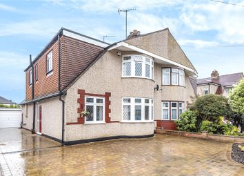 Thumbnail 3 bedroom semi-detached house for sale in Wimborne Drive, Pinner, Middlesex