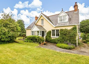Thumbnail 4 bed detached house for sale in Cwmcrawnon Road, Llangynidr, Crickhowell