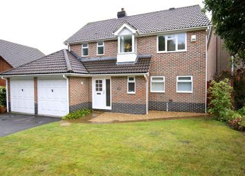 Thumbnail 4 bed detached house to rent in West Way, Broadstone