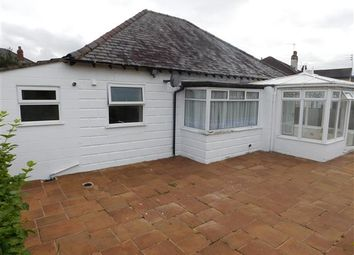 Thumbnail 2 bed bungalow for sale in Brookside Road, Gatley, Cheshire