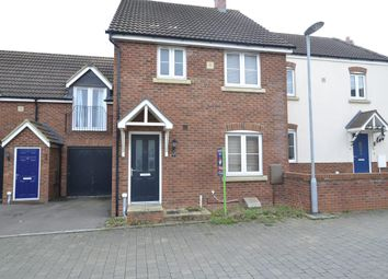 Thumbnail 3 bedroom terraced house for sale in 7 Linden Close, Brockworth, Gloucester