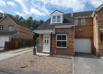 Thumbnail 3 bed semi-detached house for sale in St. Marks Close, Worksop